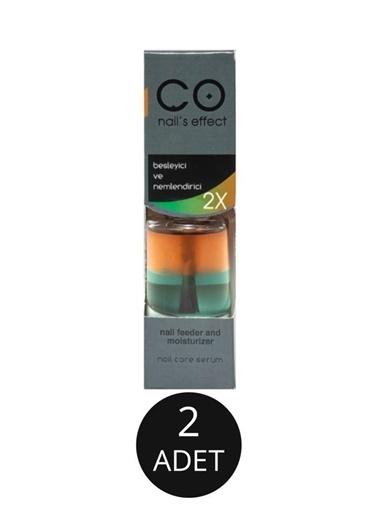 Co Nail's Effect Co Nail'S Effect Besleyici Ve Canlandırıcı 2 Kat Etkili 12 Ml X2 Adet Renksiz